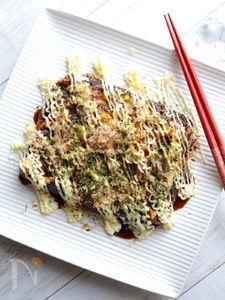 ふわふわ卵のキャベツ焼き(お好み焼き風)
