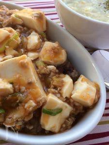 調味料2つだけ!辛くない簡単麻婆豆腐