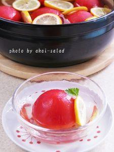 ひんやりトマトのレモン煮