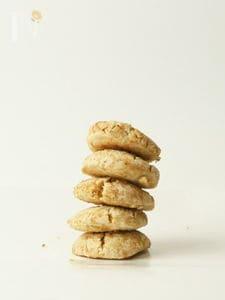生姜とレモンのクッキー