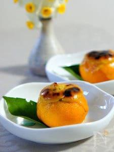 牡蠣の柚子釜