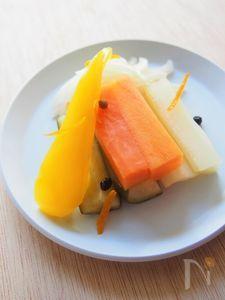 オレンジ風味のピクルス