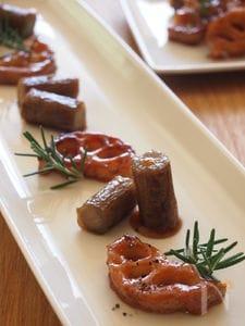 根菜じっくりグリルのカラメル風味。