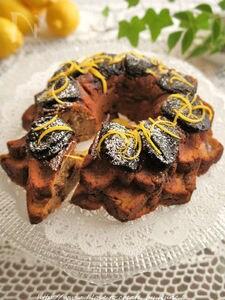 プルーンdeオカラのしっとりレモンケーキ
