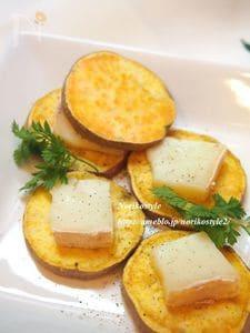 焼き芋タレッジョサンド