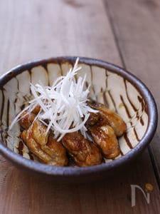 牡蠣の甘辛炒め