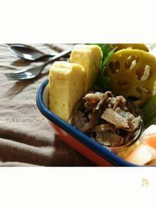 お弁当に〜牛肉と牛蒡の甘辛煮(常備菜)〜安い肉version