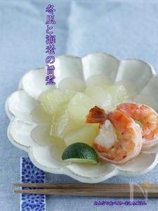 冬瓜と海老の旨煮