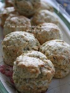 紅茶のスコーン