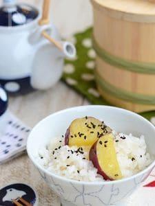 秋の味覚さつま芋ご飯