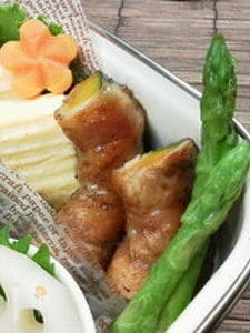 お弁当に〜豚バラロールinかぼちゃ(作りおき)〜