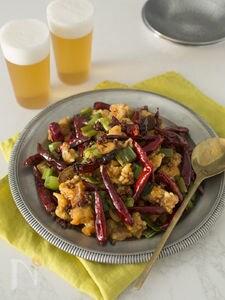 鶏の唐辛子炒め(辣子鶏)