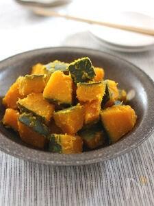 にんにく&柚子こしょうで 大人味のかぼちゃの煮物