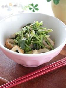 壬生菜のお浸し