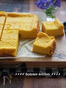 生クリーム・バター不使用!かぼちゃの豆乳ヨーグルトケーキ