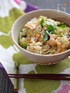 青森名物いちご煮で簡単豪華、炊き込みご飯