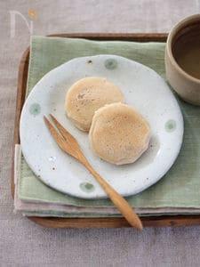 フライパンで簡単おやつ♪ほんのりしょうゆくるみ餅