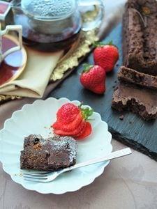 サクサク食感クランブル♡生チョコケーキ