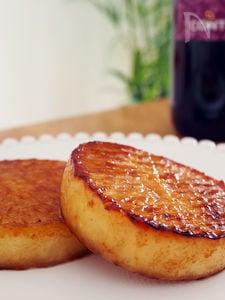 焼肉のたれで作る、とろりん大根ステーキ
