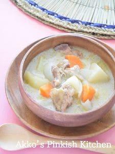 鶏肉のココナッツミルクシチュー♡南インドの家庭料理