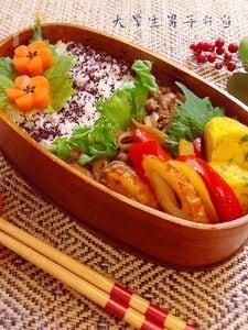牛肉と舞茸のすき焼き風弁当★