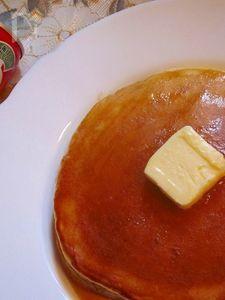 朝食におすすめの甘酒入りホットケーキ♪