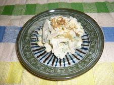蓮根と玉子の漬物サラダ