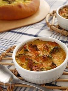炒めず簡単!野菜ジュースで作る~トマト風味のキッシュ