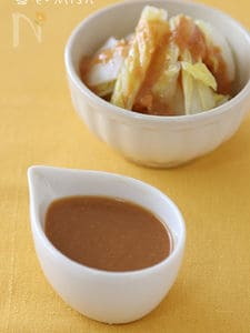 【作りおき】酢味噌だれ(茹で野菜の酢味噌がけ)