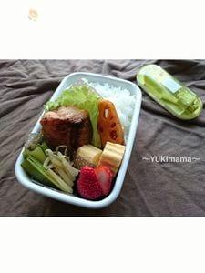 お弁当〜サーモンのハニーごまマヨめんつゆグリル(作りおき)〜