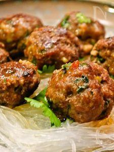 サイゴンミートボール ベトナム風で風味と食感がクセなります!