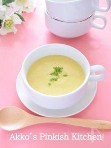 さつまいもと豆乳のサフランスープ