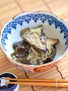 減塩なすの味噌炒め【作りおき】