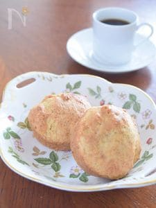 ホットケーキミックスで作る豆腐とナツメグのマフィン