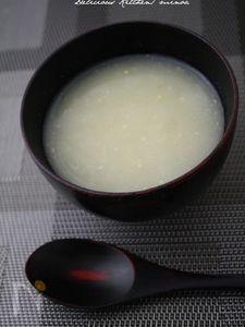 大根のとろとろスープ