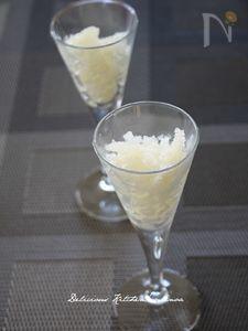 梨のグラニテ