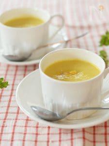 トウモロコシのポタージュスープ