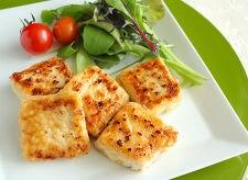 冷凍豆腐のジューシー照り焼きステーキ
