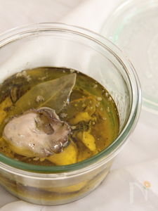 カキのオイル煮