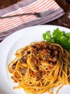 イタリアンレストラン秘伝のボロネーゼ
