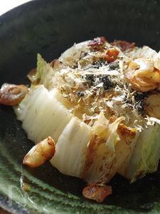 じゅわっと甘い白菜ステーキココナッツオイルver.
