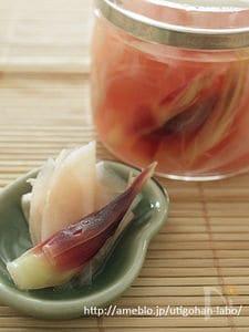 圧力鍋で!?すぐおいしい自家製ガリ~新生姜の甘酢漬け~