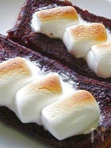 夢心地ショコラマロフレンチトースト♪