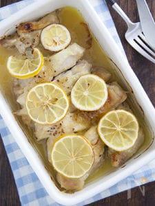 レモン香るチキンハニーマスタード焼き