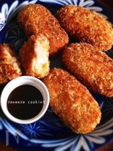 サクっとねっとり☆里芋と豚こまのうま煮コロッケ