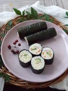 恵方巻ロールサンド