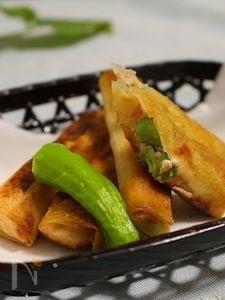 枝豆の明太チーズスティック