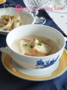 豆乳グラタンスープ