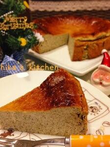 計り不要ミキサーだけ♪緑茶(抹茶)のミルキーチーズケーキ♡