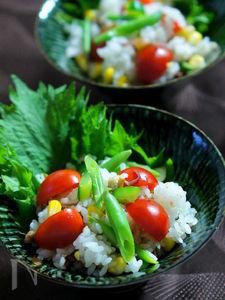 ベーコン入りサラダ寿司